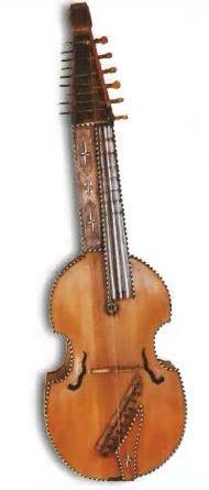 Виола- старинные смычковые инструменты