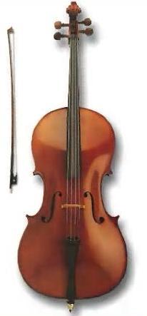 Виолончель- струнный смычковый инструмент скрипичного семейства