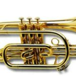 Корнет- медный духовой инструмент, представляющий собой усовершенствованный почтовый рожок (итальянское corno означает - рог, почтовый рожок).