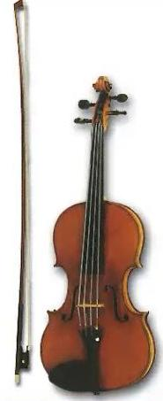 Скрипка- струнный смычковый инструмент, самый высокий по звучанию, наиболее богатый по выразительным и техническим возможностям среди инструментов скрипичного семейства.